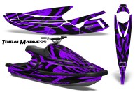 Yamaha-WaveBlaster-93-96-CreatorX-Graphics-Kit-Tribal-Madness-Purple