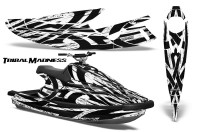 Yamaha-WaveBlaster-93-96-CreatorX-Graphics-Kit-Tribal-Madness-White