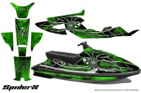 Yamaha-WaveRaider-CreatorX-Graphics-Kit-SpiderX-Green