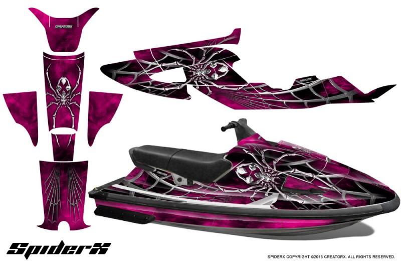 Yamaha-WaveRaider-CreatorX-Graphics-Kit-SpiderX-Pink