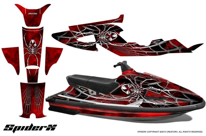 Yamaha-WaveRaider-CreatorX-Graphics-Kit-SpiderX-Red