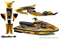 Yamaha-WaveRaider-CreatorX-Graphics-Kit-SpiderX-Yellow