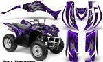Yamaha Wolverine 06 10 CreatorX Graphics Kit Bolt Thrower Purple 150x90 - Yamaha Wolverine 2006-2012 Graphics