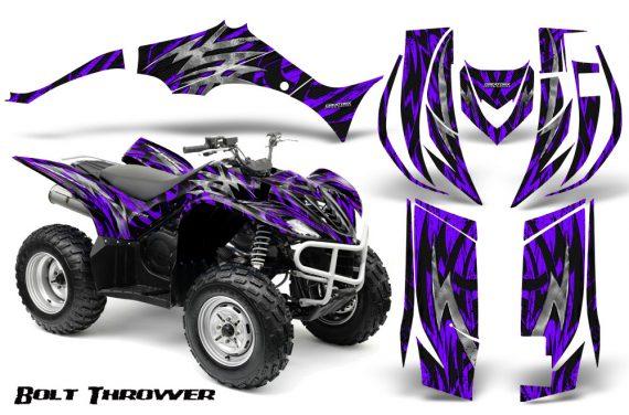 Yamaha Wolverine 06 10 CreatorX Graphics Kit Bolt Thrower Purple 570x376 - Yamaha Wolverine 2006-2012 Graphics