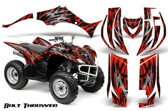 Yamaha Wolverine 06 10 CreatorX Graphics Kit Bolt Thrower Red 570x376 - Yamaha Wolverine 2006-2012 Graphics