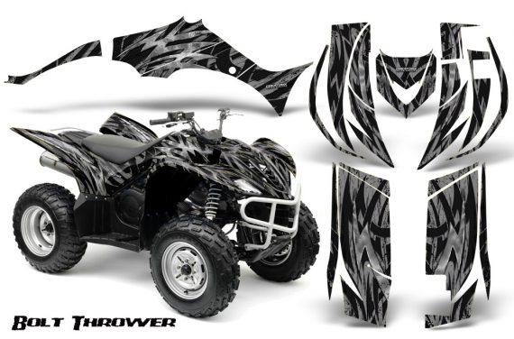Yamaha Wolverine 06 10 CreatorX Graphics Kit Bolt Thrower Silver 570x376 - Yamaha Wolverine 2006-2012 Graphics