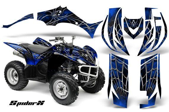 Yamaha Wolverine 06 10 CreatorX Graphics Kit SpiderX Blue 570x376 - Yamaha Wolverine 2006-2012 Graphics