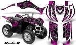 Yamaha Wolverine 06 10 CreatorX Graphics Kit SpiderX Pink 150x90 - Yamaha Wolverine 2006-2012 Graphics
