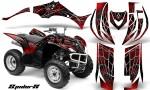 Yamaha Wolverine 06 10 CreatorX Graphics Kit SpiderX Red 150x90 - Yamaha Wolverine 2006-2012 Graphics