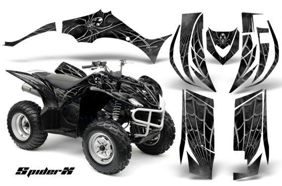 Yamaha Wolverine 06 10 CreatorX Graphics Kit SpiderX Silver 570x376 - Yamaha Wolverine 2006-2012 Graphics