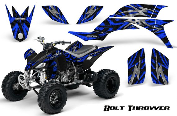 Yamaha YFZ 450 03 08 CreatorX Graphics Kit Bolt Thrower Blue 570x376 - Yamaha YFZ 450 2004-2013 Graphics