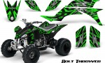 Yamaha YFZ 450 03 08 CreatorX Graphics Kit Bolt Thrower Green 150x90 - Yamaha YFZ 450 2004-2013 Graphics