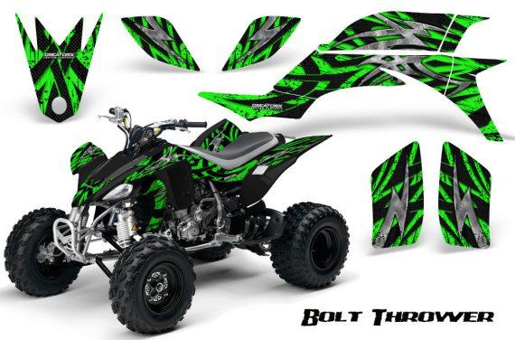 Yamaha YFZ 450 03 08 CreatorX Graphics Kit Bolt Thrower Green 570x376 - Yamaha YFZ 450 2004-2013 Graphics
