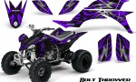 Yamaha YFZ 450 03 08 CreatorX Graphics Kit Bolt Thrower Purple 150x90 - Yamaha YFZ 450 2004-2013 Graphics