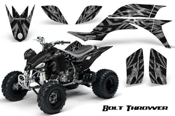 Yamaha YFZ 450 03 08 CreatorX Graphics Kit Bolt Thrower Silver 570x376 - Yamaha YFZ 450 2004-2013 Graphics