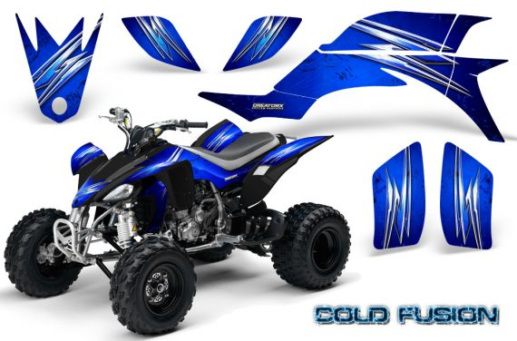 Yamaha YFZ 450 03 08 CreatorX Graphics Kit Cold Fusion Blue 570x376 - Yamaha YFZ 450 2004-2013 Graphics