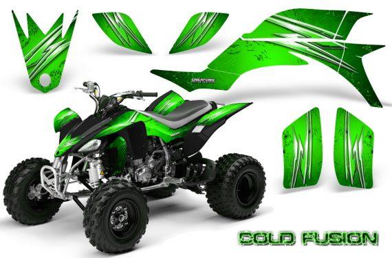 Yamaha YFZ 450 03 08 CreatorX Graphics Kit Cold Fusion Green 570x376 - Yamaha YFZ 450 2004-2013 Graphics