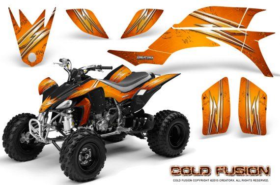 Yamaha YFZ 450 03 08 CreatorX Graphics Kit Cold Fusion Orange 570x376 - Yamaha YFZ 450 2004-2013 Graphics
