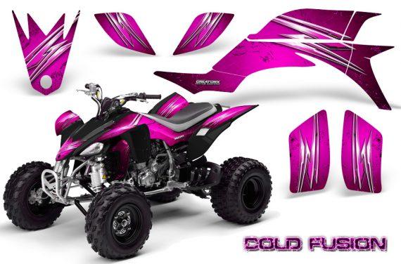 Yamaha YFZ 450 03 08 CreatorX Graphics Kit Cold Fusion Pink 570x376 - Yamaha YFZ 450 2004-2013 Graphics