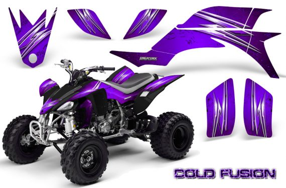 Yamaha YFZ 450 03 08 CreatorX Graphics Kit Cold Fusion Purple 570x376 - Yamaha YFZ 450 2004-2013 Graphics