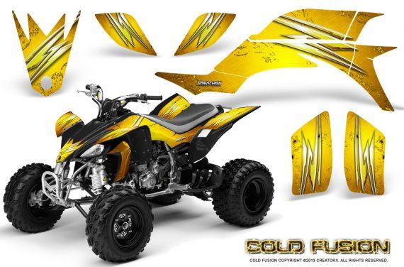 Yamaha YFZ 450 03 08 CreatorX Graphics Kit Cold Fusion Yellow 570x376 - Yamaha YFZ 450 2004-2013 Graphics