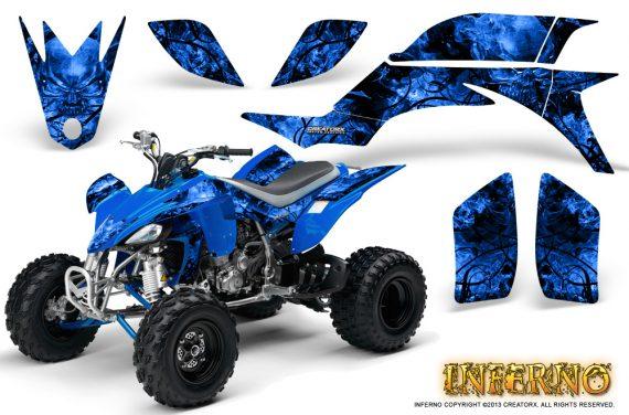 Yamaha YFZ 450 03 08 CreatorX Graphics Kit Inferno Blue 570x376 - Yamaha YFZ 450 2004-2013 Graphics