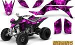 Yamaha YFZ 450 03 08 CreatorX Graphics Kit Inferno Pink 150x90 - Yamaha YFZ 450 2004-2013 Graphics