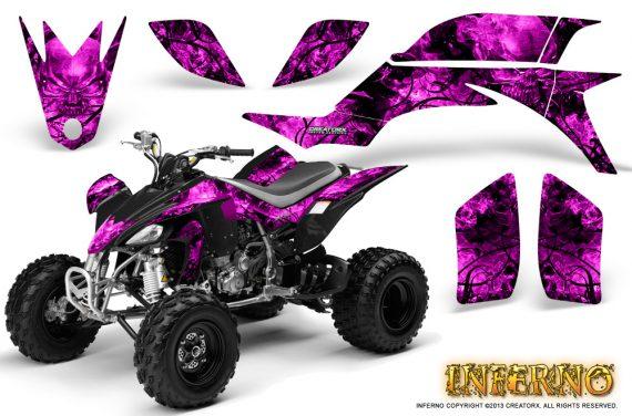 Yamaha YFZ 450 03 08 CreatorX Graphics Kit Inferno Pink 570x376 - Yamaha YFZ 450 2004-2013 Graphics