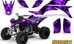 Yamaha YFZ 450 03 08 CreatorX Graphics Kit Inferno Purple 150x90 - Yamaha YFZ 450 2004-2013 Graphics