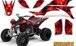Yamaha YFZ 450 03 08 CreatorX Graphics Kit Inferno Red 150x90 - Yamaha YFZ 450 2004-2013 Graphics