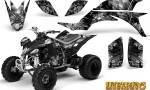 Yamaha YFZ 450 03 08 CreatorX Graphics Kit Inferno Silver 150x90 - Yamaha YFZ 450 2004-2013 Graphics