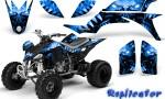 Yamaha YFZ 450 03 08 CreatorX Graphics Kit Replicator Blue BB 150x90 - Yamaha YFZ 450 2004-2013 Graphics