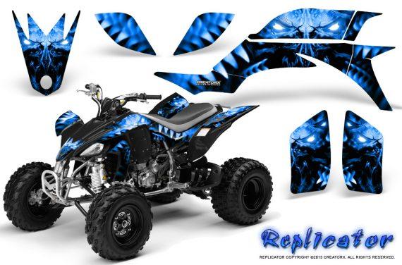 Yamaha YFZ 450 03 08 CreatorX Graphics Kit Replicator Blue BB 570x376 - Yamaha YFZ 450 2004-2013 Graphics