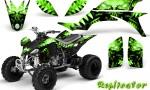 Yamaha YFZ 450 03 08 CreatorX Graphics Kit Replicator Green 150x90 - Yamaha YFZ 450 2004-2013 Graphics