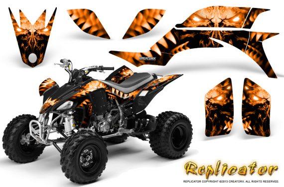 Yamaha YFZ 450 03 08 CreatorX Graphics Kit Replicator Orange 570x376 - Yamaha YFZ 450 2004-2013 Graphics