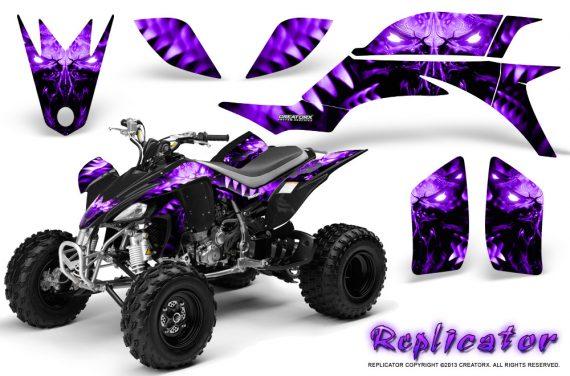 Yamaha YFZ 450 03 08 CreatorX Graphics Kit Replicator Purple 570x376 - Yamaha YFZ 450 2004-2013 Graphics