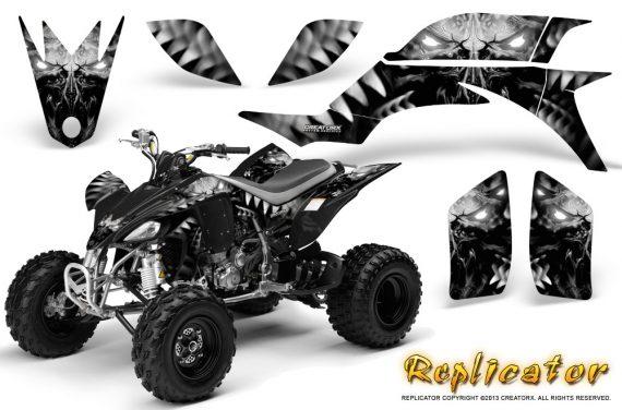 Yamaha YFZ 450 03 08 CreatorX Graphics Kit Replicator Silver 570x376 - Yamaha YFZ 450 2004-2013 Graphics