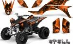 Yamaha YFZ 450 03 08 CreatorX Graphics Kit Spell Orange 150x90 - Yamaha YFZ 450 2004-2013 Graphics