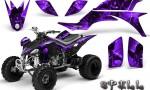 Yamaha YFZ 450 03 08 CreatorX Graphics Kit Spell Purple 150x90 - Yamaha YFZ 450 2004-2013 Graphics