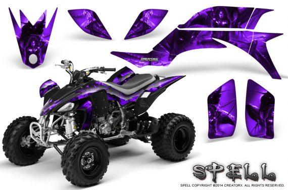 Yamaha YFZ 450 03 08 CreatorX Graphics Kit Spell Purple 570x376 - Yamaha YFZ 450 2004-2013 Graphics