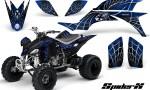 Yamaha YFZ 450 03 08 CreatorX Graphics Kit SpiderX Blue 150x90 - Yamaha YFZ 450 2004-2013 Graphics