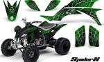 Yamaha YFZ 450 03 08 CreatorX Graphics Kit SpiderX Green 150x90 - Yamaha YFZ 450 2004-2013 Graphics