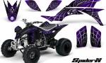 Yamaha YFZ 450 03 08 CreatorX Graphics Kit SpiderX Purple 150x90 - Yamaha YFZ 450 2004-2013 Graphics