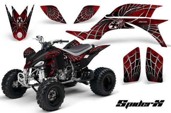 Yamaha YFZ 450 03 08 CreatorX Graphics Kit SpiderX Red 570x376 - Yamaha YFZ 450 2004-2013 Graphics