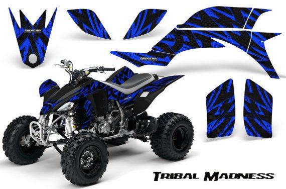 Yamaha YFZ 450 03 08 CreatorX Graphics Kit Tribal Madness Blue 570x376 - Yamaha YFZ 450 2004-2013 Graphics