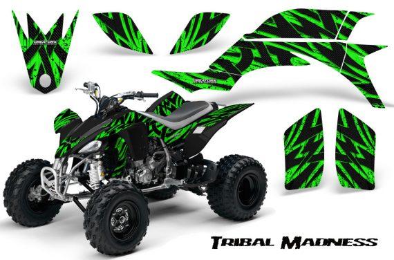 Yamaha YFZ 450 03 08 CreatorX Graphics Kit Tribal Madness Green 570x376 - Yamaha YFZ 450 2004-2013 Graphics