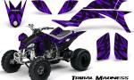 Yamaha YFZ 450 03 08 CreatorX Graphics Kit Tribal Madness Purple 150x90 - Yamaha YFZ 450 2004-2013 Graphics