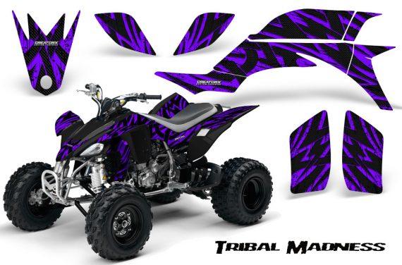 Yamaha YFZ 450 03 08 CreatorX Graphics Kit Tribal Madness Purple 570x376 - Yamaha YFZ 450 2004-2013 Graphics