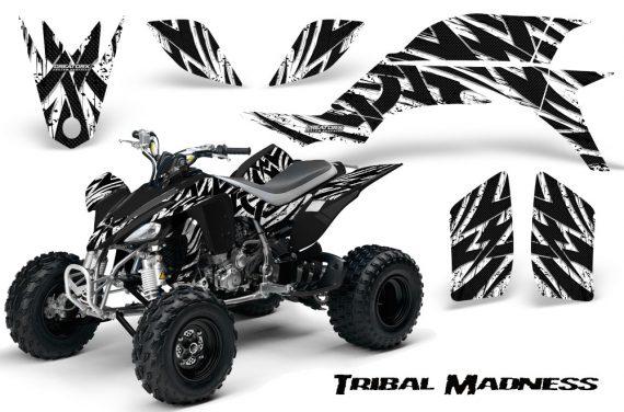 Yamaha YFZ 450 03 08 CreatorX Graphics Kit Tribal Madness White 570x376 - Yamaha YFZ 450 2004-2013 Graphics