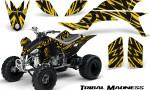 Yamaha YFZ 450 03 08 CreatorX Graphics Kit Tribal Madness Yellow 150x90 - Yamaha YFZ 450 2004-2013 Graphics